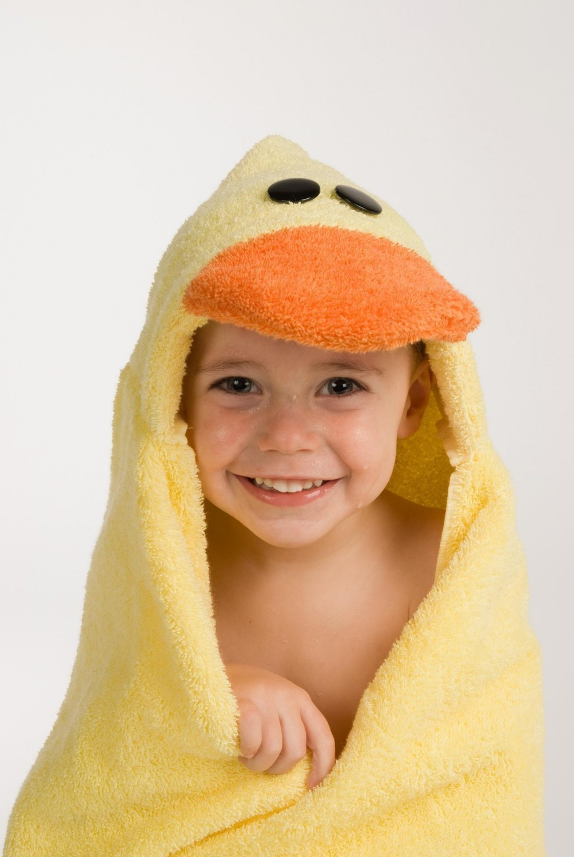 Rubadub Buddies Duck Hooded Towel Growing Your Baby