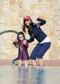 Samantha Harris and her daughter Josselyn
