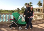 Samantha Harris with Michael Hess at Pelican Hill