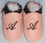 Soft Soul Baby Shoes - moxies personalized leather baby shoes