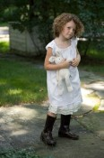 The Measure -White petticoat with off-white ruffles