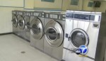 The laundromat where the baby was trapped inside a washing machine