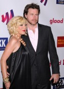 Tori Spelling and Dean McDermott at the GLAAD Awards