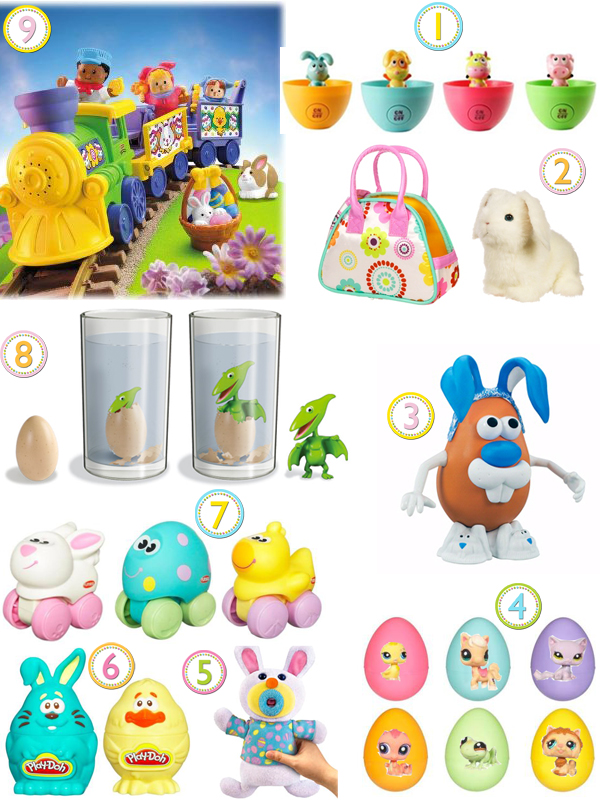 Easter baby toys toys model ideas 9 candy free easter ideas growing your baby negle Image collections