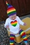 mama runs with scissors -I Heart Rainbows