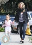 Heidi Klum with daughter Leni