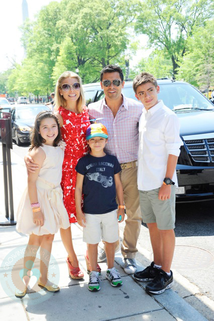 Mark Consuelos Kids Mark Consuelos and Kel...