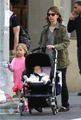 Sofia Coppola and her daughters, Romy and Cosima