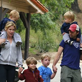 Julie Bowen Spends Mother's Day With Her Boys