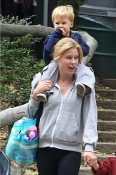 Julie Bowen with her son on Mother's Day