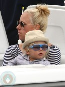 Zuma Rossdale in Cannes