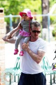 Eric Dane with daughter Billie Coldwater park