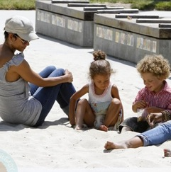 Halle Berry & Garcelle Beauvais Enjoy A Kids Playdate!