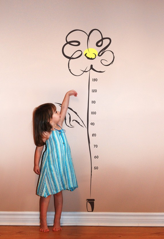 Evgie Charming Little Daisy Growth Chart Growing