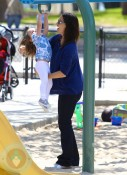 Jennifer Garner and Seraphina At The Park
