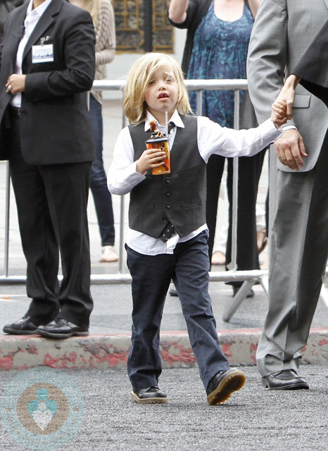 Shiloh Jolie Pitt At Kung Fu Panda Premiere Growing Your