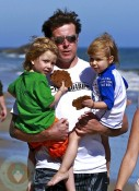 Dean McDermott and kids Liam and Stella