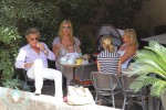 Rod Stewart with wife Penny Lancaster and son Aiden