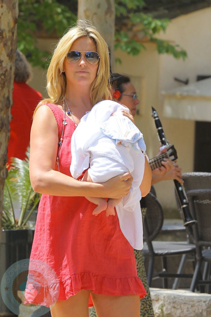 Penny Lancaster And Son Aiden Stewart Growing Your Baby