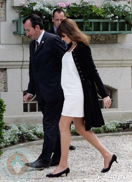 Nicolas Sarkozy And Wife Carla Bruni Sarkozy At G8 Summit In France Growing Your Baby