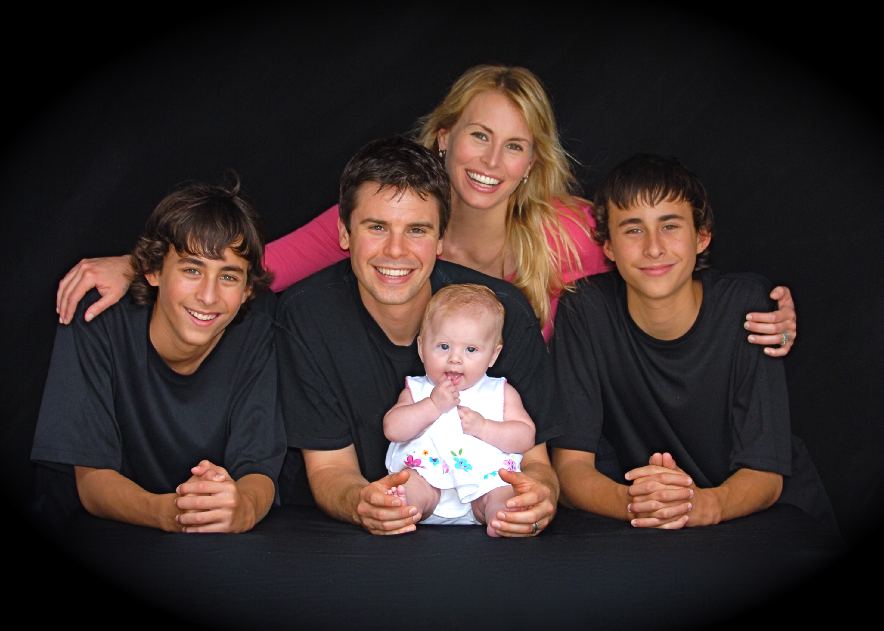 Niki Taylor With Her Family Growing Your Baby