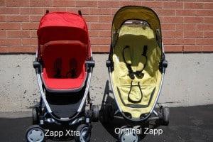 Quinny Zapp Xtra Comparison