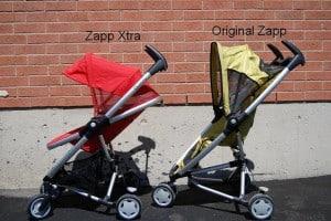 Quinny Zapp Xtra - Hood Comparison