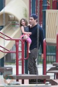Jason Goldberg with daughter Jagger