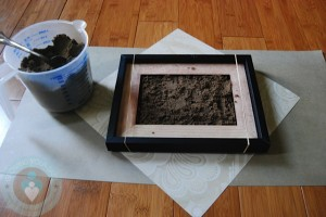 footprint - adding the sand
