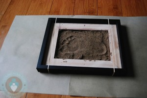 footprint - footprint in the sand