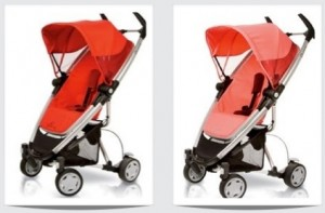 quinny zapp xtra red and pink