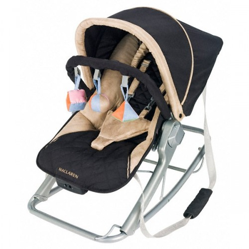 Maclaren's Techno Rocker in Black/Champagne