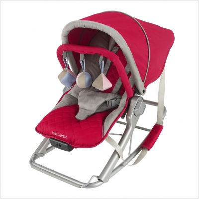Maclaren's Techno Rocker in Persian Red