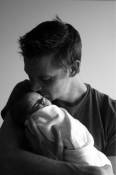 Jesse Warren and Baby Finn