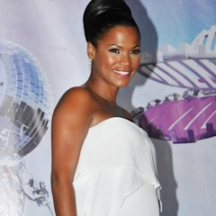Nia Long Shows Off Her Growing Bump At The BET Awards!