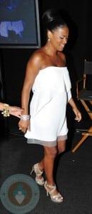 A Pregnant Nia Long at the 2011 BET Awards