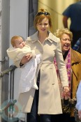 Nicole Kidman and daughter Faith in Australia