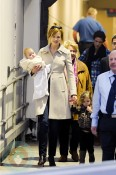 Nicole Kidman with daughters Faith and Sunday in Australia