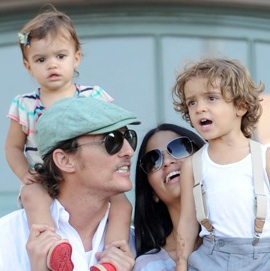 The McConaugheys Visit Disneyland!