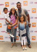 Bill Bellamy with his family at Kidstock