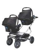 Mountain Buggy Duet  with 2 carseats