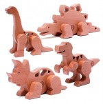 EDtoy Magnetic Dino Building System