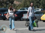 Chris Robinson with wife Allison Bridges and their daughter Cheyenne