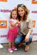 Giada de Launrentiis with daughter Jade at Kidstock