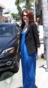 A pregnant Bryce Dallas Howard at the salon
