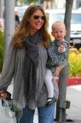 Rebecca Gayheart and daughter Billie Dane