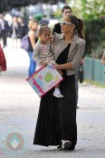 Jennifer Lopez in Paris with her daughter Emme