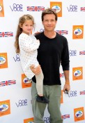 Jason Bateman with daughter Francesca at Kidstock