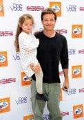 Jason Bateman with daughter Francesca at Kidstock