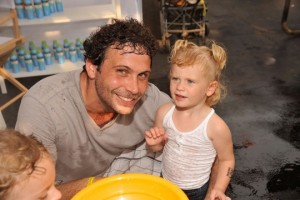 Jeremy Sisto and daughter Charlie